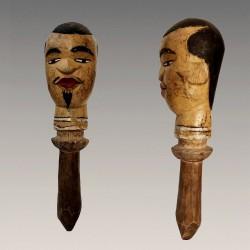 Poupee Kuyu marotte africaine ancienne