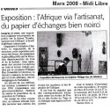 Midi Libre mars 2008