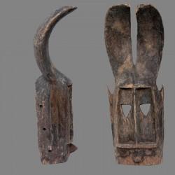 Masque lievre Dogon tres ancien