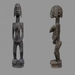 Statuette africaine tres ancienne fecondite Dogon
