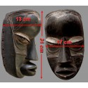 Ancien masque Dan assez lourd dimensions
