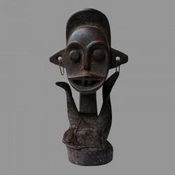 Statuette Tikar protectrice rare et ancienne