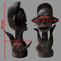 Statuette Tikar protectrice rare et ancienne dimensions