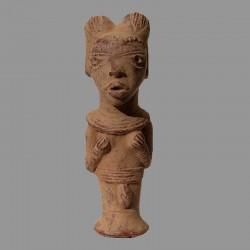 Statuette Tikar en terre cuite