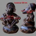 Maternite Tikar en terre cuite dimensions
