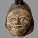 Masque cimier Yoruba Gélédé ancien casque