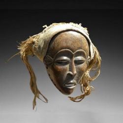 Masque facial féminin Tchokwé Lwena