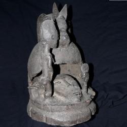 Magnifique autel aux ancêtres Baoulé