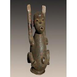 Statuette cimier de fécondité Mambila