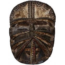 Masque de guerre Bété-Guéré de Côte d'Ivoire