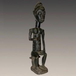 Figure d'ancêtre Baoulé
