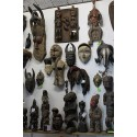 Aperçu de l'exposition/vente d'Arts Africains à Pézenas 34120