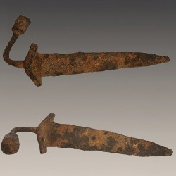 Ancien couteau Adioukrou