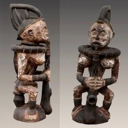 Statue autel reine Ibo Igbo