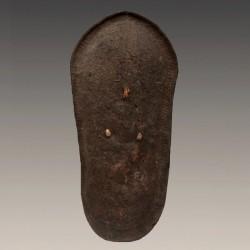 Ancien bouclier Konso du Sud de l'Ethiopie