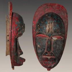 Masque Dan Guéré rare et ancien